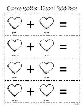 Conversation Heart Addition