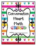Conversation Heart Math Packet