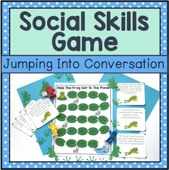 Conversation Skill Game: Jumping Into Conversation