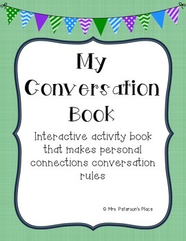 Conversation Skills Building Activity Book