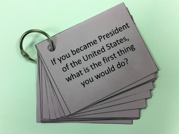 Conversation Starter Cards - If Questions