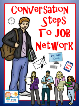 Conversation Steps to Job Network with Anyone: Using Socia