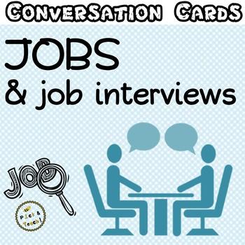Conversation cards –  Jobs & job interviews