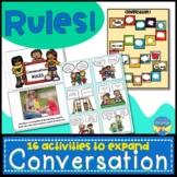 Conversation Rules- Social Skills, Pragmatics, Autism, Spe