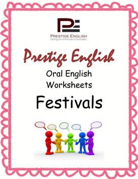 Oral / Speaking / Conversation English Worksheets - FESTIVALS
