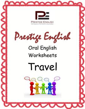 Oral / Speaking / Conversation English Worksheets - TRAVEL