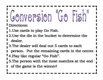 Conversion Go Fish