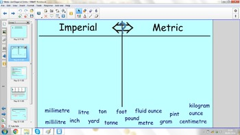 Converting Between Imperial and Metric Units - SmartBoard