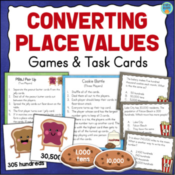 Converting Between Place Values