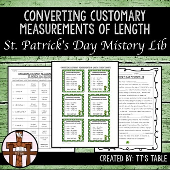 Converting Customary Measurements of Length St. Patrick's