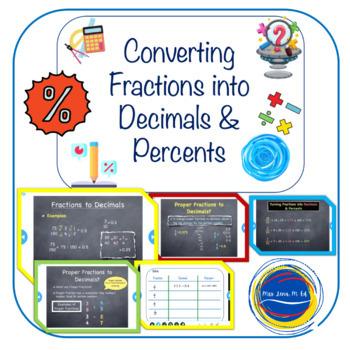 Converting Fractions into Decimals - CCSS Grade 7 Math