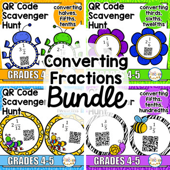 Converting Improper Fractions to Mixed Numbers: The BUNDLE