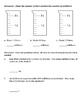 Converting Metric Measurements of Liquid Worksheet - Liter