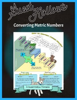 Converting Metric Numbers Using the Stair Step Method