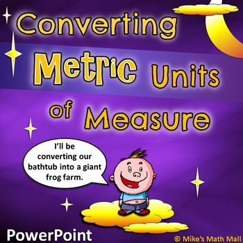Converting Metric Units of Measure - 5th Grade CCSS (Power