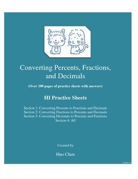 Converting Percents, Fractions, and Decimals