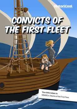 Convicts of the First Fleet Poster & Resource Bundle