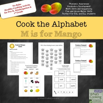 Cook the Alphabet: M is for Mango
