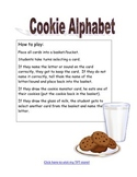 Cookie Alphabet Game