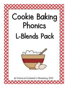 Cookie Baking Phonics: L-Blends Pack