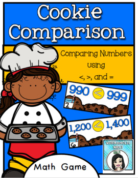 Cookie Comparison - A Comparing Numbers Game