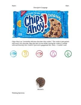 Cookie Descriptive Writing