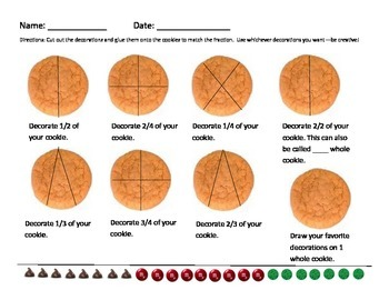 Cookie Fractions!