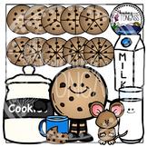 Cookie Fractions Clipart Bundle