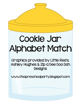 Cookie Jar Alphabet Match