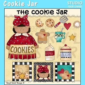 Cookie Jar Clip Art C. Seslar