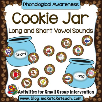 Cookie Jar- Long and Short Vowel Sounds