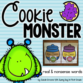 Cookie Monster {real & nonsense words!}