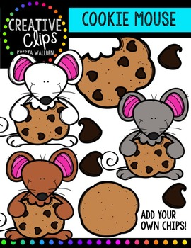 Cookie Mouse {Creative Clips Digital Clipart}