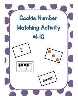 Cookie Number Matching Station