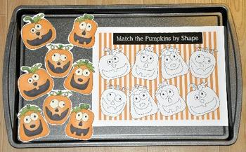 Pumpkin Cookie Sheet Activities