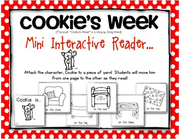 Cookie's Week {Mini Interactive Reader} Perfect for Young