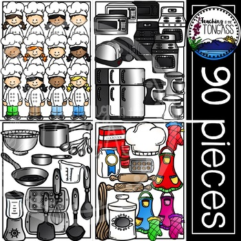 Cooking Clipart MEGA Bundle