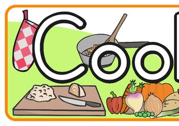 Cooking Club Display Banner
