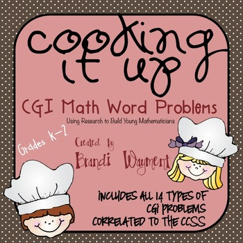 Cooking It Up - CGI Math Word Problems
