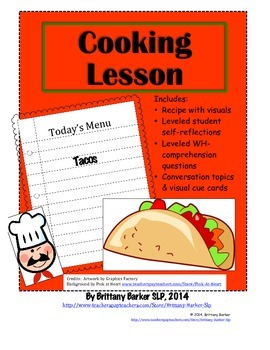 Cooking Lesson Taco Recipe