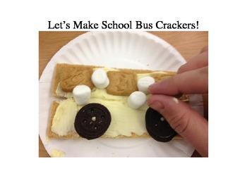 Cooking School Theme- School buses