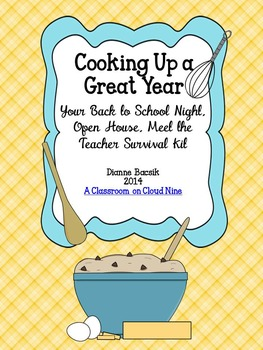 Cooking Up A Great Year! {Your Back to School Night Surviv