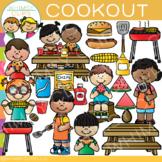 Summer Cookout Clip Art