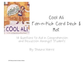 Cool Ali Fan & Pick Cards (Trophies 2nd grade)