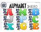 Cool Cat Theme Alphabet Bingo; Uppercase and Lowercase