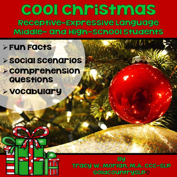 #dec16slpmusthave Cool Christmas for Middle and High Schoo