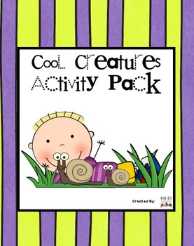 Cool Creatures Activity Pack