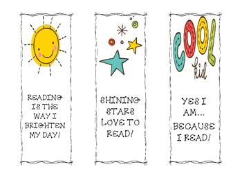 Cool Kids Bookmarks