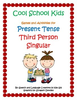 Cool School Kids Games and Activities for Present Tense Th