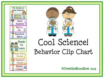 Cool Science! Behavior Clip Chart